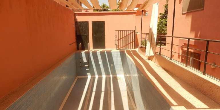 Villa non meublée à louer route de casa marrakech2