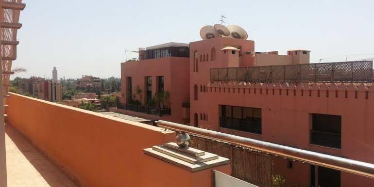 location appartement meublé à hivernage marrakech pour longue duree3