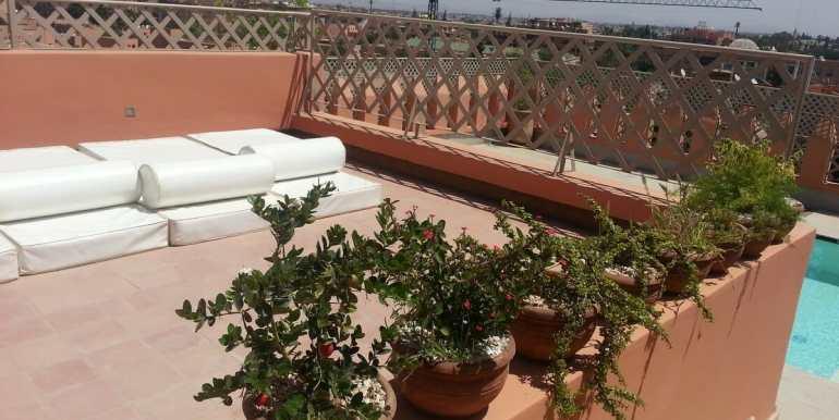 location appartement meublé à hivernage marrakech pour longue duree4
