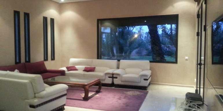 location villa de luxe pour longue durée au palmeraie marrakech3