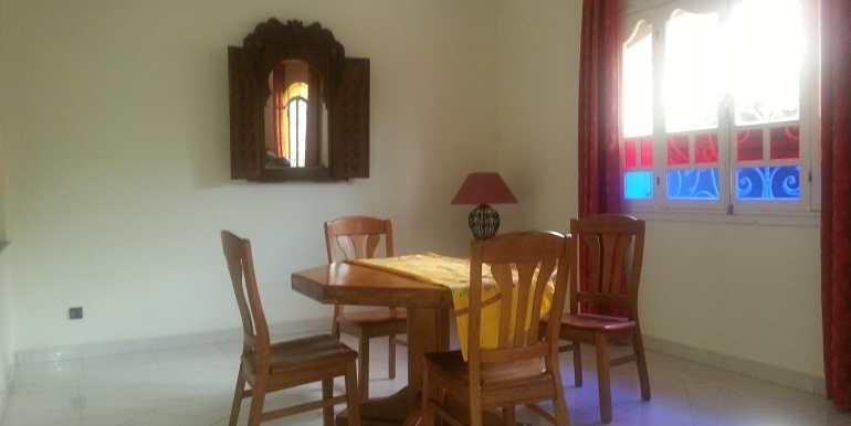 location villa meublée à targa marrakech avec piscine privée6