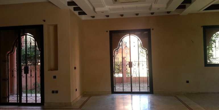 location villa non meublé route de fes à marrakech