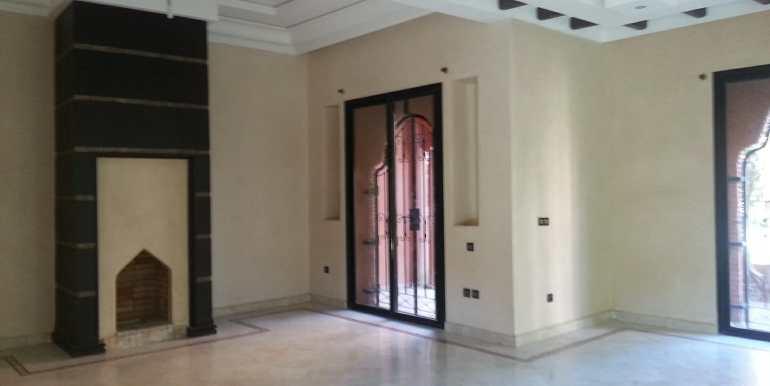 location villa non meublé route de fes à marrakech1
