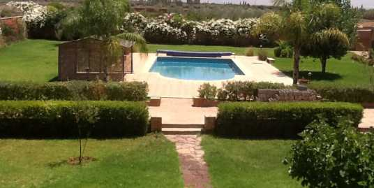 location villa vide route de l'ourika marrakech pour longue durée