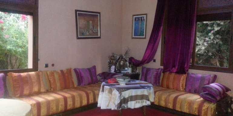 louer villa meublée sur la route de fes marrakech3