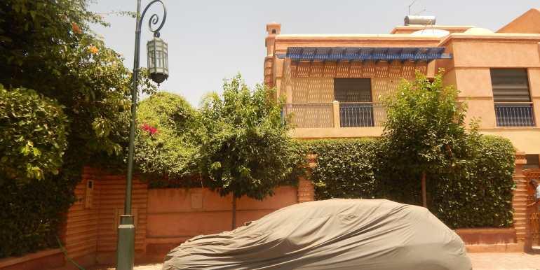 Villa à vendre sur la route de casa marrakech-11