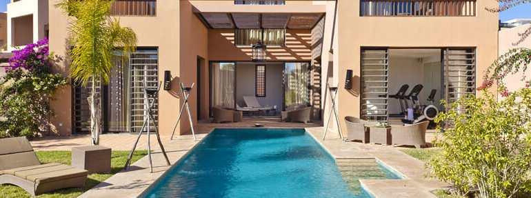 Villa et riad à vendre programme neuf Marrakech -1