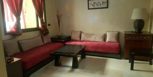 Location appartement meublé 1ch à Gueliz Marrakech