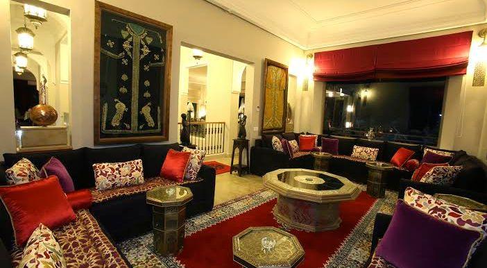 villa à louer pour celebration de marriage au maroc