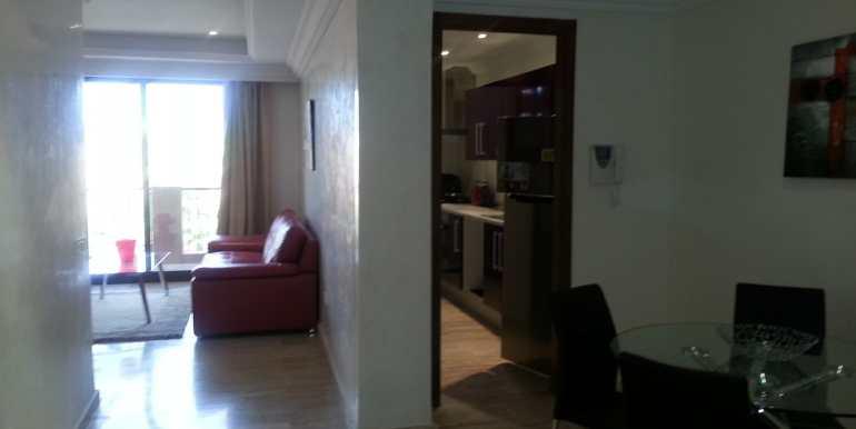 Appartement à loué pour longue durée route de casa marrakech-1