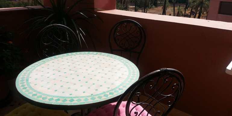 Appartement à loué pour longue durée route de casa marrakech-7