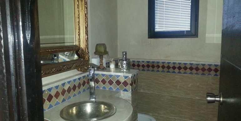 Location Villa meublée pour longue durée sur la route de fes marrakech-5