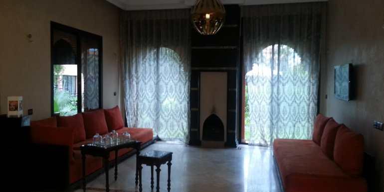 Location Villa meublée pour longue durée sur la route de fes marrakech