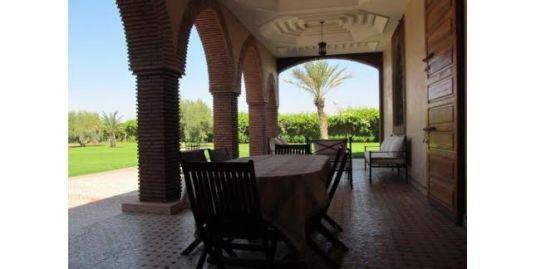 Villa de prestige à vendre sur la route d'ourika