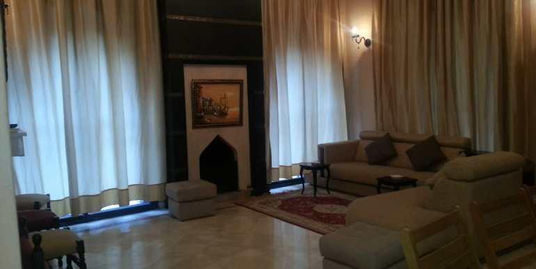 Villa meublée à louer sur la route de fes marrakech-4