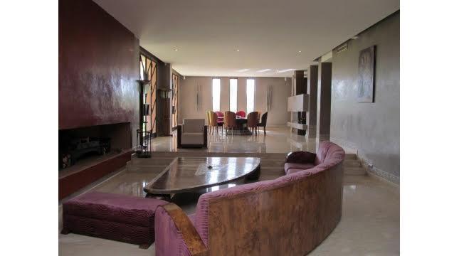 villa à vendre sur domaine amelkis marrakech proche de Golf-3