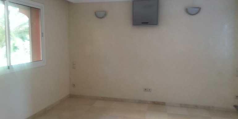 Duplex vide à louer pour longue durée à gueliz Marrakech-1