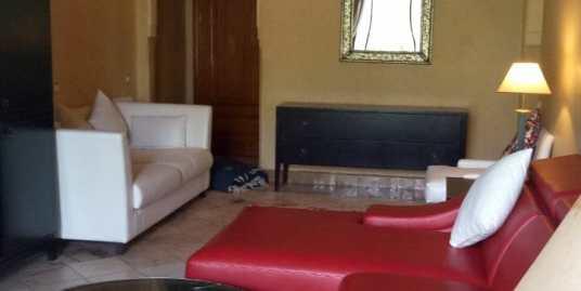 Joli appartement rez de jardin meublé à la palmeraie