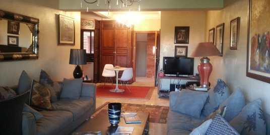 magnifique appartement à vendre à l'hivernage marrakech