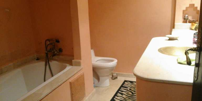 Appartement meublé pour longue durée à la palmeraie marrakech (3)