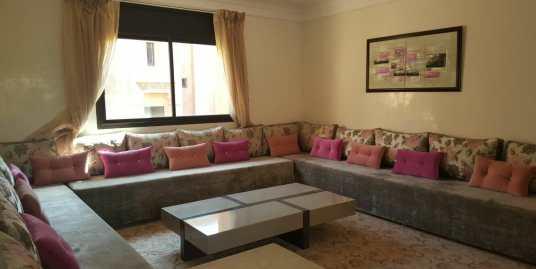 joli appartement meublé pour longue durée à targa marrakech