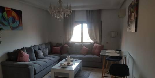 Bel appartement 3CH meublé sur la route de casa