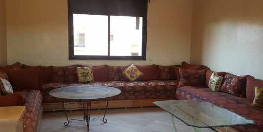 Bel appartement semi meublé à targa