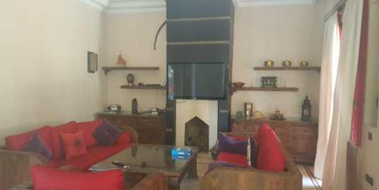 Belle villa meublée pour longue durée route de fès marrakech