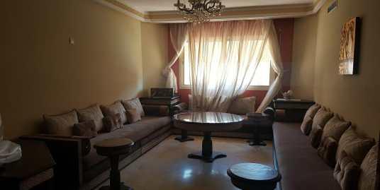 joli appartement de 3ch sur la route de casa marrakech