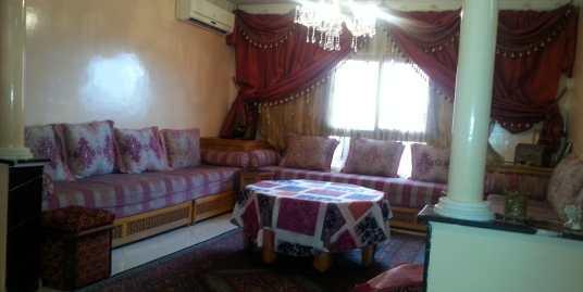 appartement pour longue durée sur l'avenue allal Fassi