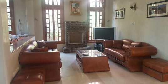 Belle villa moderne vide à targa marrakech