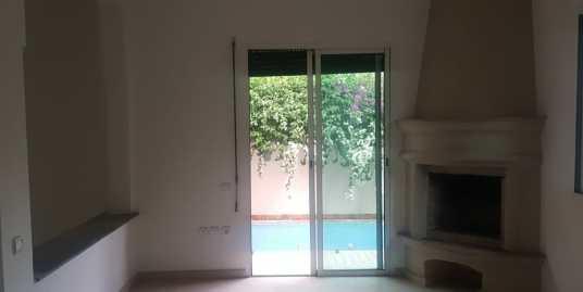 Belle villa vide située à targa marrakech