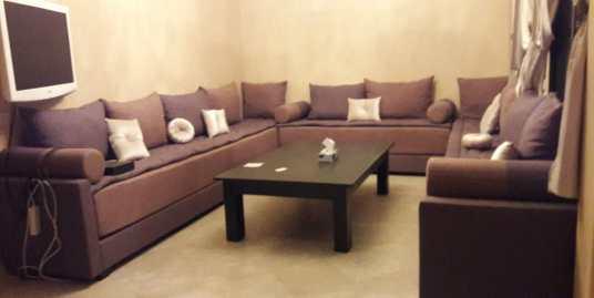 Joli appartement meublé pour longue durée à guéliz