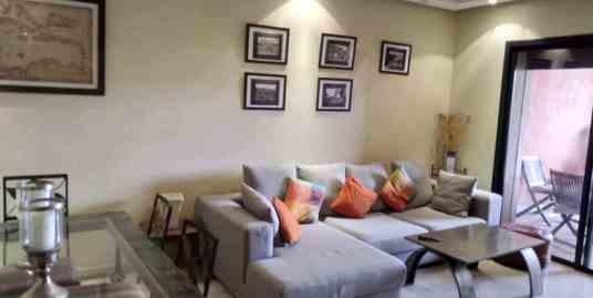 prestigieux appartement meublé à l'hivernage
