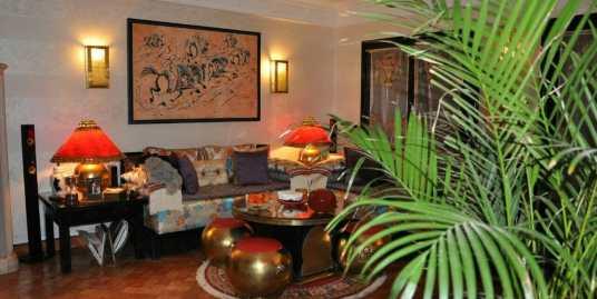 Superbe appartement sur avenue Mohamed 6 marrakech