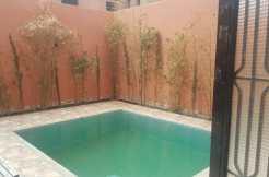 Villa vide sur la route de Fès marrakech