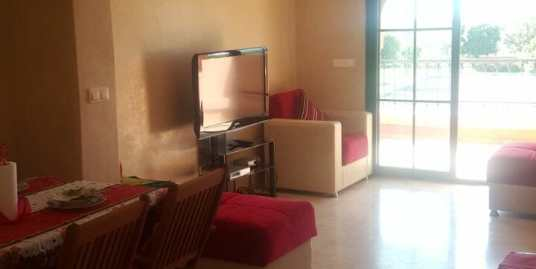 Location appartement meublé sur la route de Fès