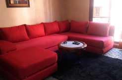 Duplex meublé à louer pour longue durée à guéliz