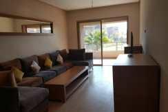 Joli appartement meuble Av Mohamed 6