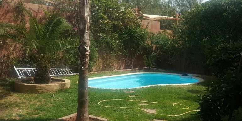 Vente appartement avec piscine privative à la palmeraie marrakech (12)