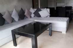 bel appartement meublé sur av mohamed 6