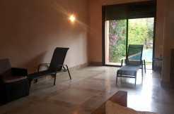 Villa à louer vide sur la route d'ourika marrakech