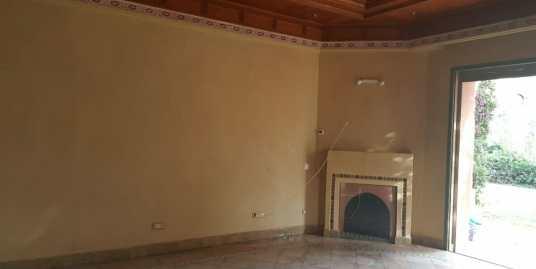 Bel appartement semi meublé rez de jardin à la palmeraie