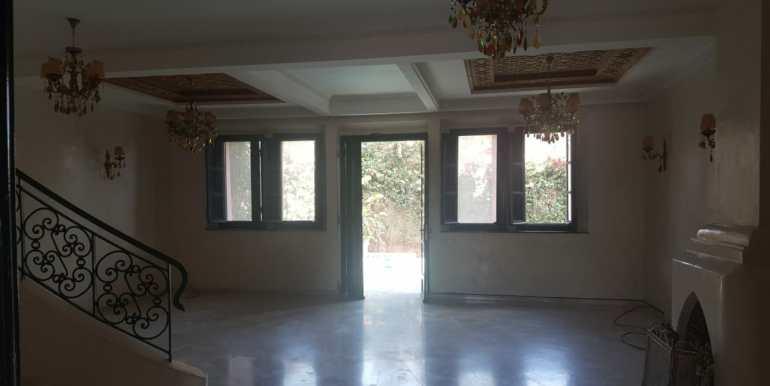 villa vide pour longue durée à la palmeraie marrakech (9)
