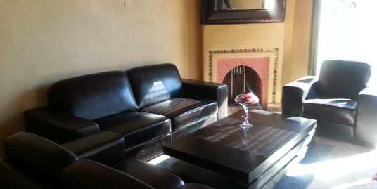 Joli appartement meublé de 3CH la palmeraie