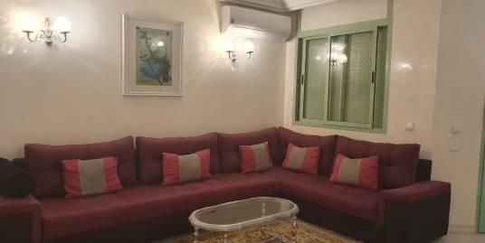 Appartement meublé de trois chambres à l'hivernage