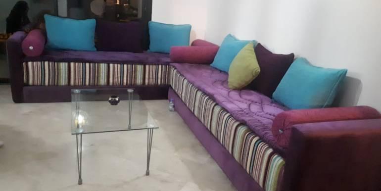 appartement meublé route de casa vers le stade de marrakech (1)