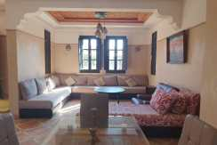 jolie villa meublée située à la palmeraie