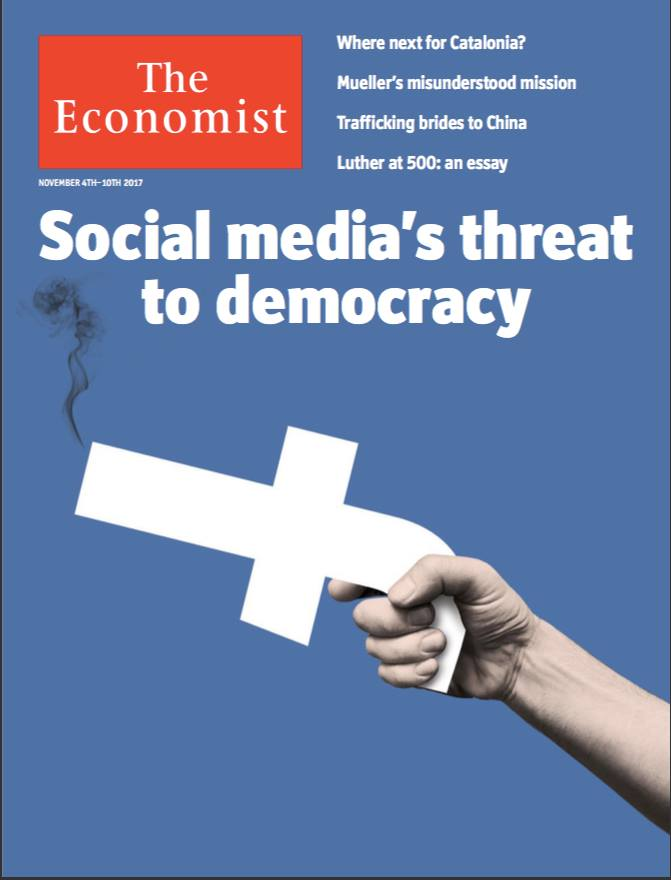 the economist Do social media threaten democracy