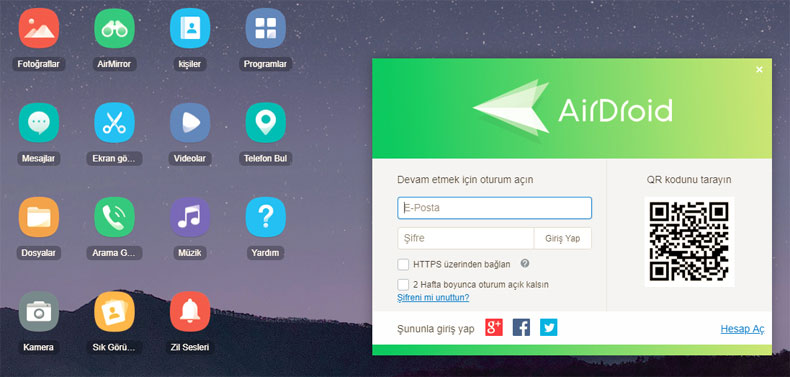airdroid-web